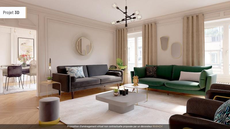 Deluxe sale apartment Lyon 6ème 1185000€ - Picture 1