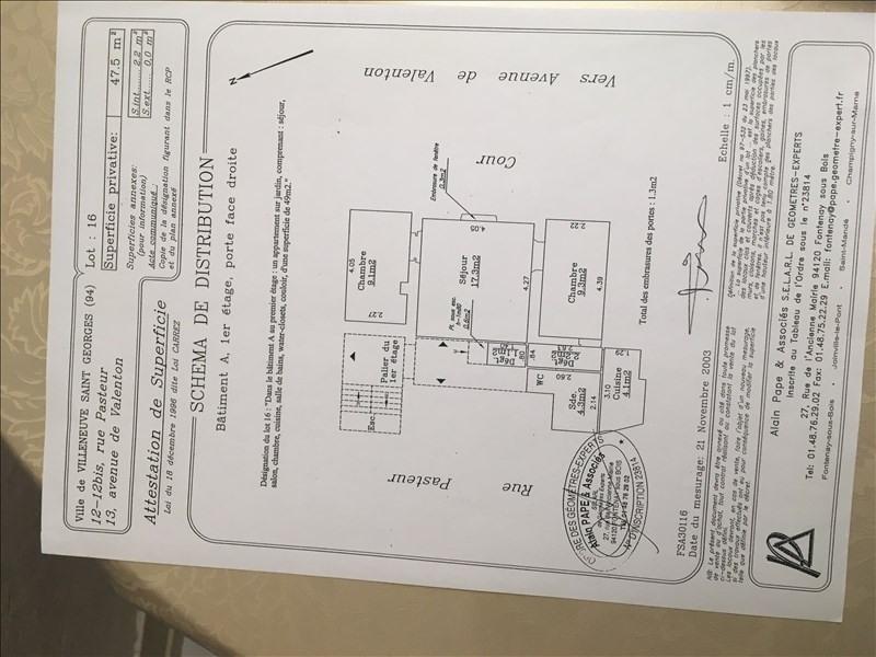 Vente appartement Villeneuve st georges 133000€ - Photo 4