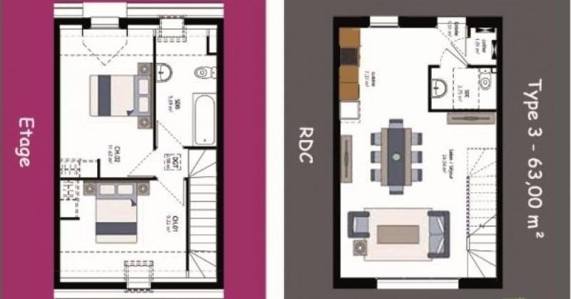 Vente appartement Pont ste marie 144900€ - Photo 3