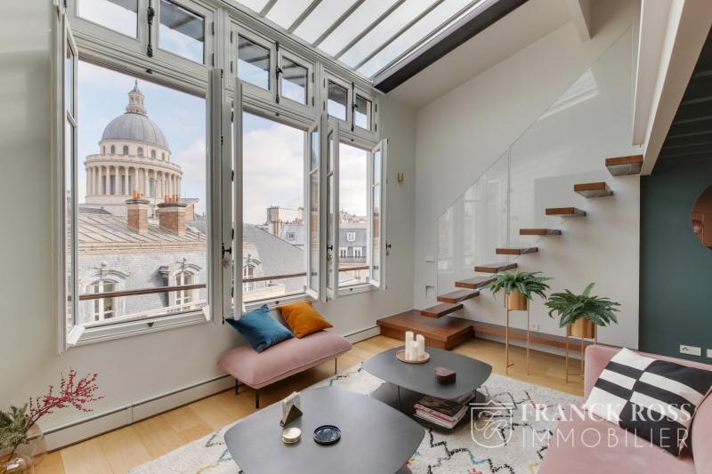 Rental apartment Paris 5ème 4300€ CC - Picture 2