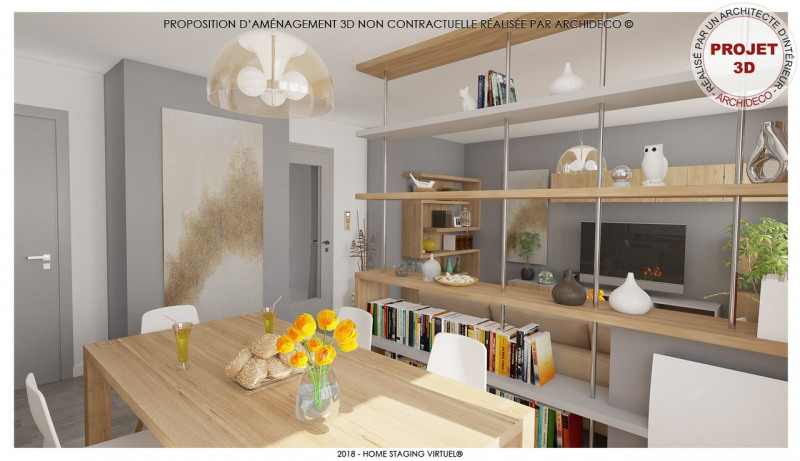 Vendita appartamento Voiron 89000€ - Fotografia 2