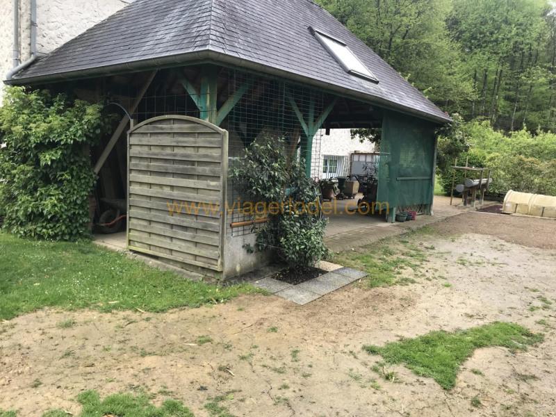 Vitalicio  casa Port-brillet 52500€ - Fotografía 5