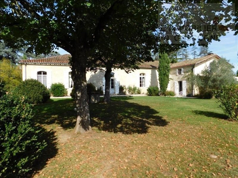 Deluxe sale house / villa Pavie 850 000€ - Picture 1
