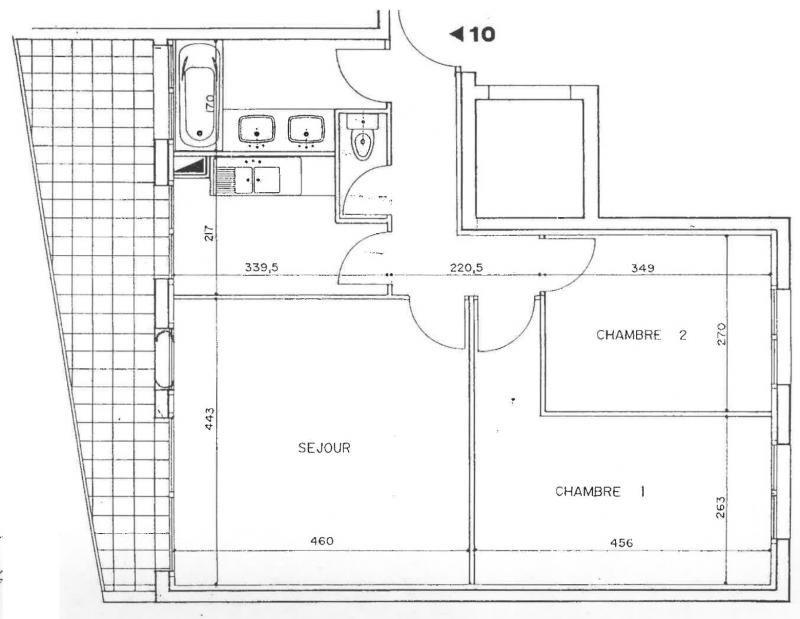 Rental apartment St leu la foret 1140€ CC - Picture 1