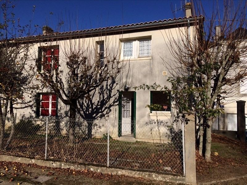 Vente maison / villa Ruffec 54000€ - Photo 1