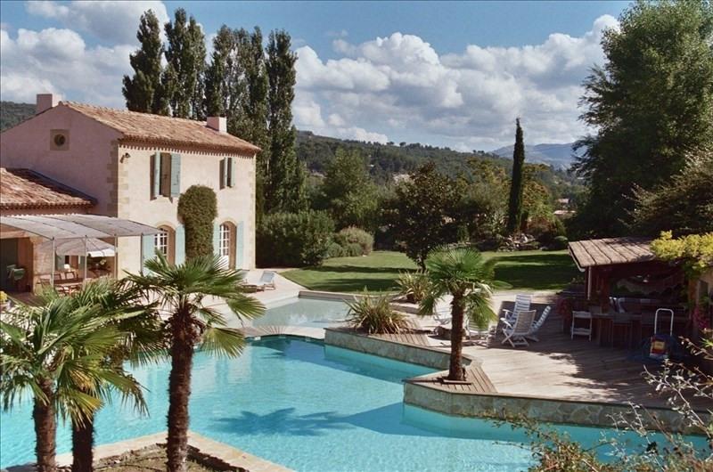 Venta de prestigio  casa Meyreuil 1950000€ - Fotografía 2