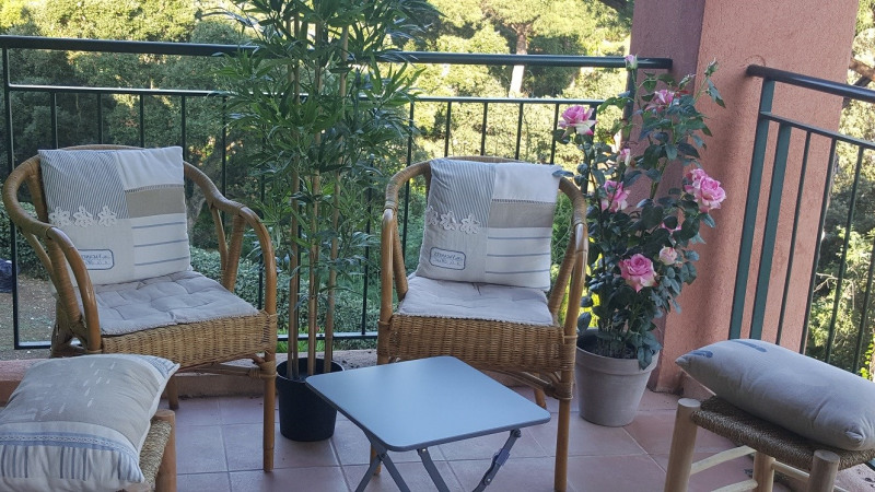 Vacation rental apartment Les issambres 600€ - Picture 1