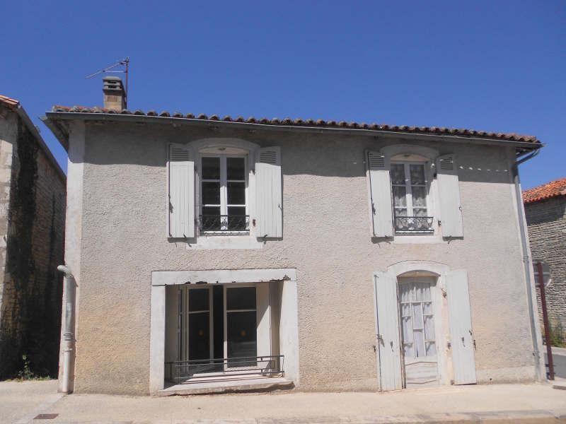 Sale house / villa St fraigne 65000€ - Picture 1