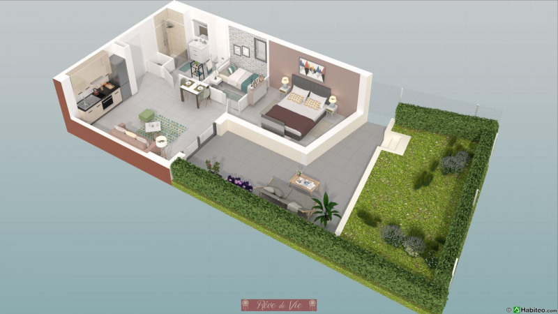 Sale apartment Bormes les mimosas 215 000€ - Picture 1