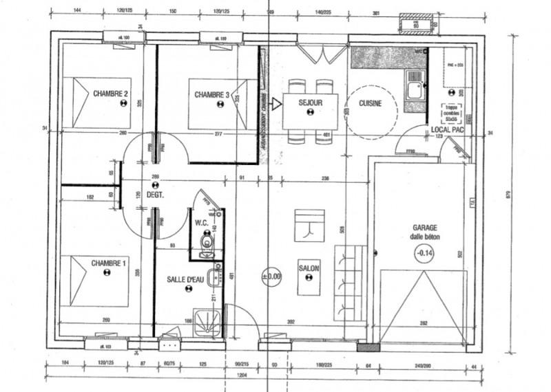 Venta  casa Bueil 220000€ - Fotografía 9