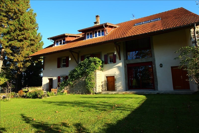 Deluxe sale house / villa Pers jussy 955 000€ - Picture 1