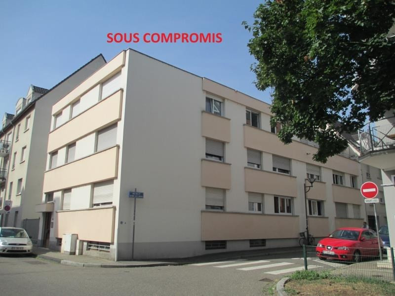Investment property apartment Strasbourg 135000€ - Picture 1