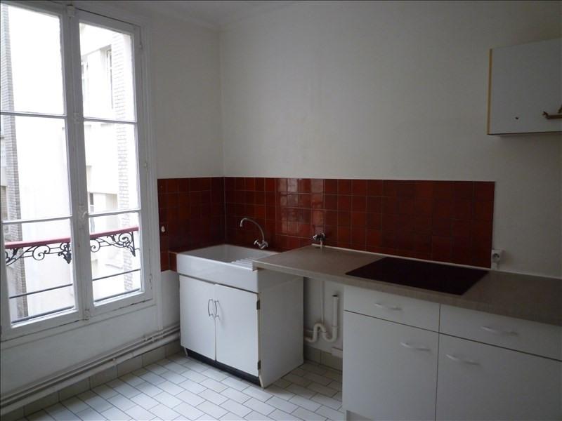 Rental apartment Paris 17ème 1250€ CC - Picture 3