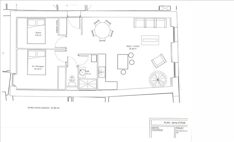 Vente appartement Gap 138000€ - Photo 1