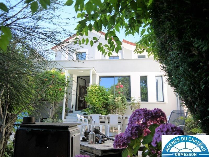 Vente maison / villa Ormesson sur marne 480000€ - Photo 1
