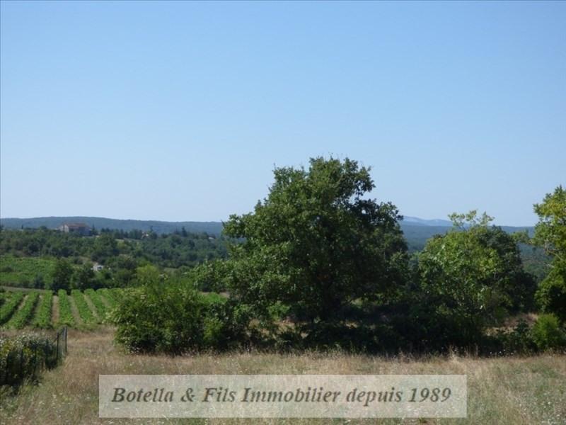 Vendita terreno Barjac 89400€ - Fotografia 3