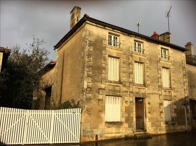 Vente maison / villa La chapelle mouliere 123000€ - Photo 1