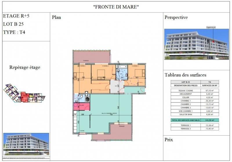 Deluxe sale apartment Propriano 670000€ - Picture 3