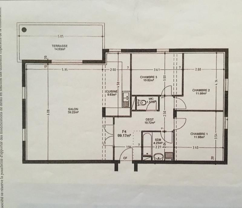 Vente appartement Saverne 229000€ - Photo 3