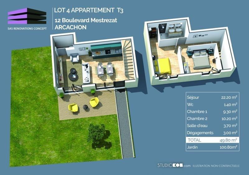 Venta  apartamento Arcachon 323000€ - Fotografía 2