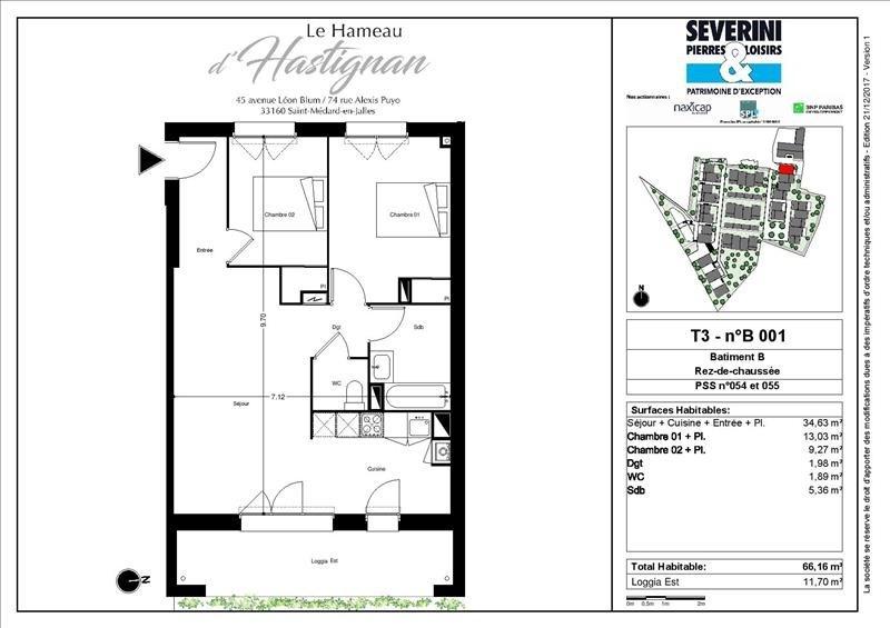 Vente appartement St medard en jalles 260000€ - Photo 2