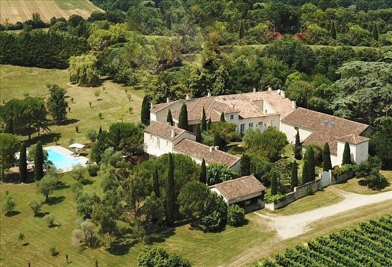 Verkauf von luxusobjekt haus La romieu 1775000€ - Fotografie 2