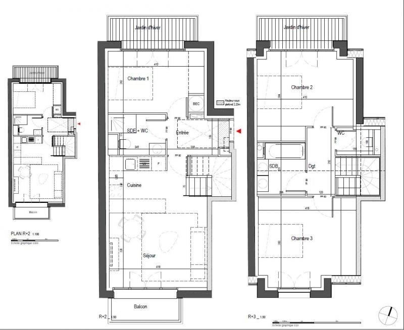 Vente appartement Clamart 499000€ - Photo 2