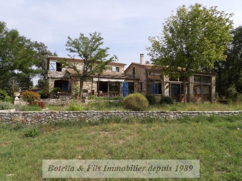 Verkoop van prestige  huis Barjac 527000€ - Foto 1