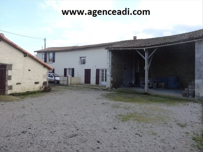 Vente maison / villa Exireuil 132000€ - Photo 1