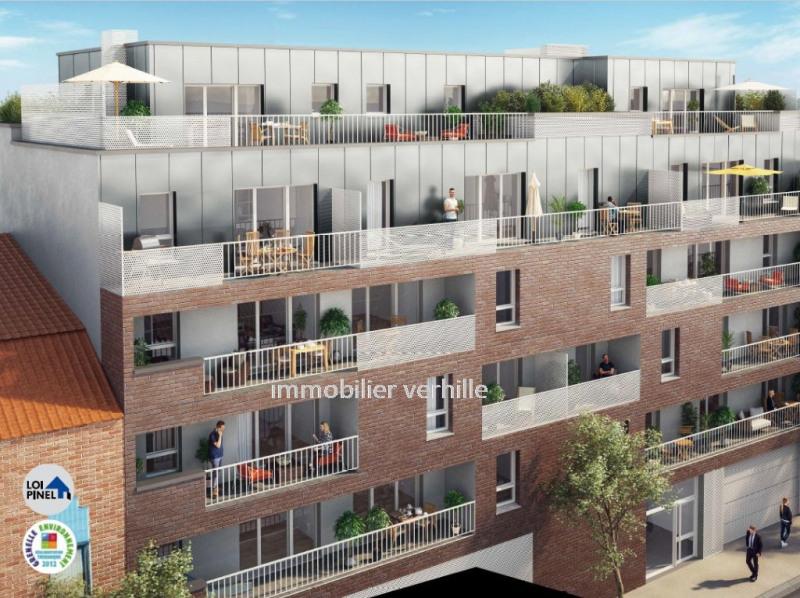 Sale apartment Croix 408500€ - Picture 1