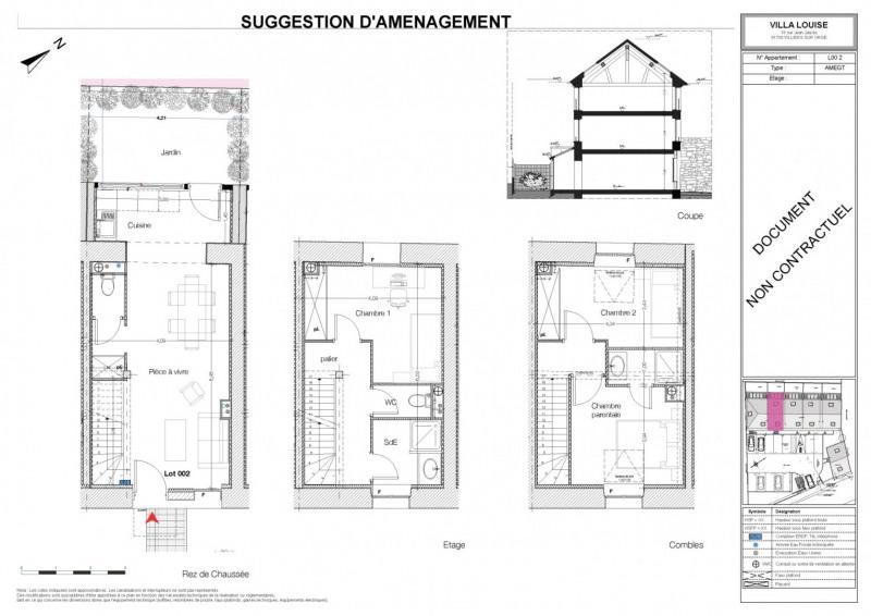Sale house / villa Villiers sur orge 204360€ - Picture 3