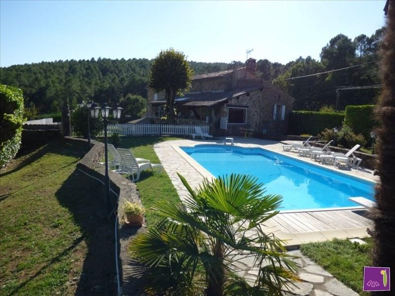 Vente de prestige maison / villa Les vans 690000€ - Photo 1