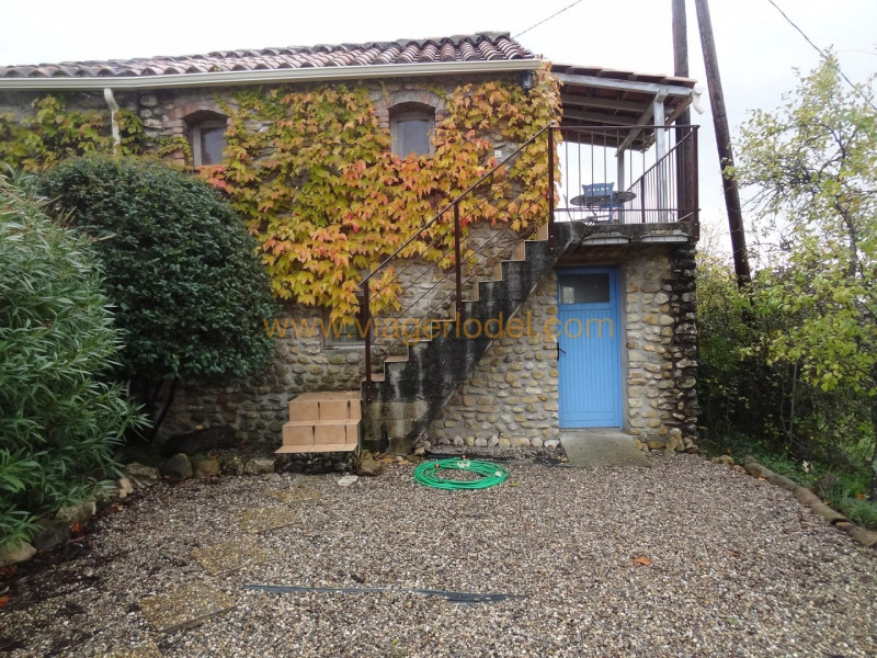 Vitalicio  casa Saint-ambroix 240000€ - Fotografía 4