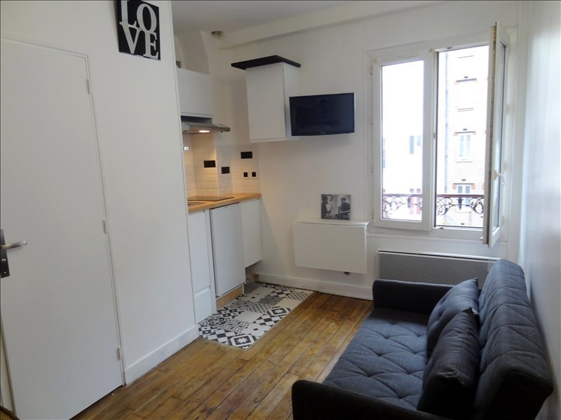 Rental apartment Levallois perret 590€ CC - Picture 1