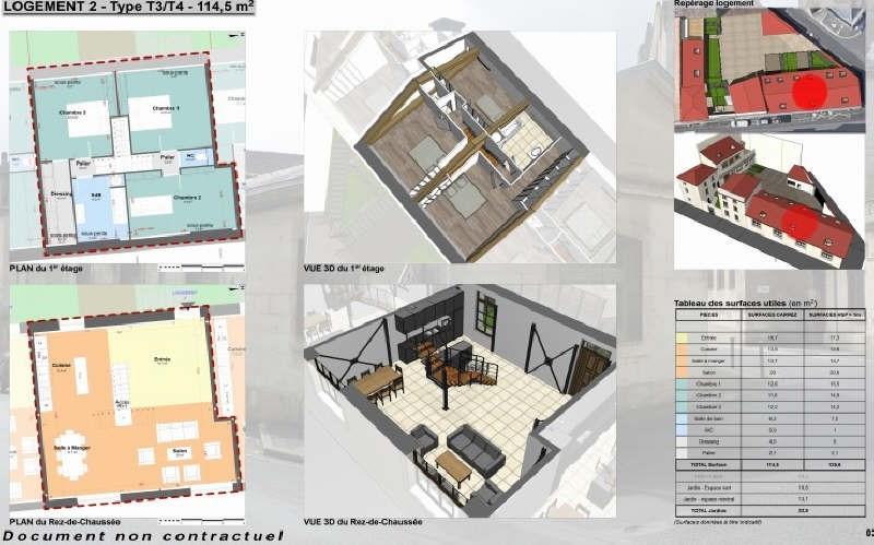 Vente appartement Niort 210940€ - Photo 1