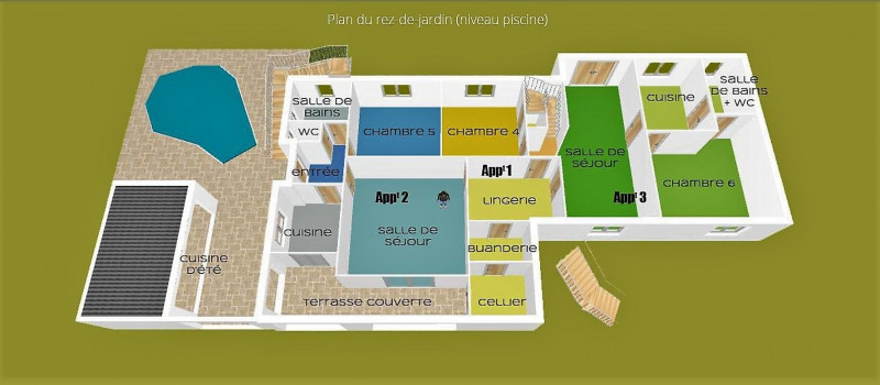 Vente de prestige maison / villa Les adrets-de-l'estérel 800000€ - Photo 8