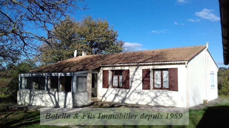Vente maison / villa Uzes 170000€ - Photo 1