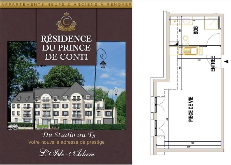 Vendita appartamento L isle adam 175000€ - Fotografia 1