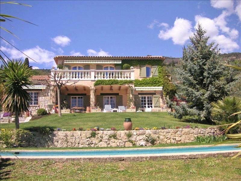 Vente de prestige maison / villa Speracedes 792000€ - Photo 1
