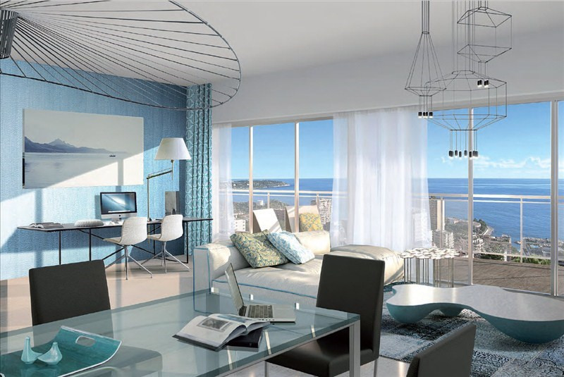 Vente appartement Beausoleil 494000€ - Photo 1