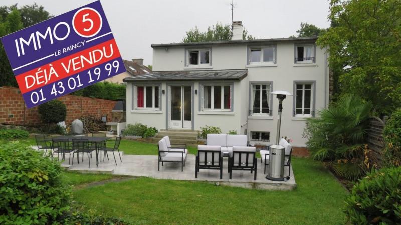 Vente maison / villa Le raincy 670000€ - Photo 1
