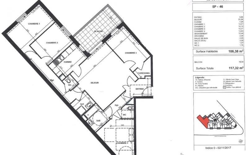 Vente de prestige appartement Antony 633000€ - Photo 1
