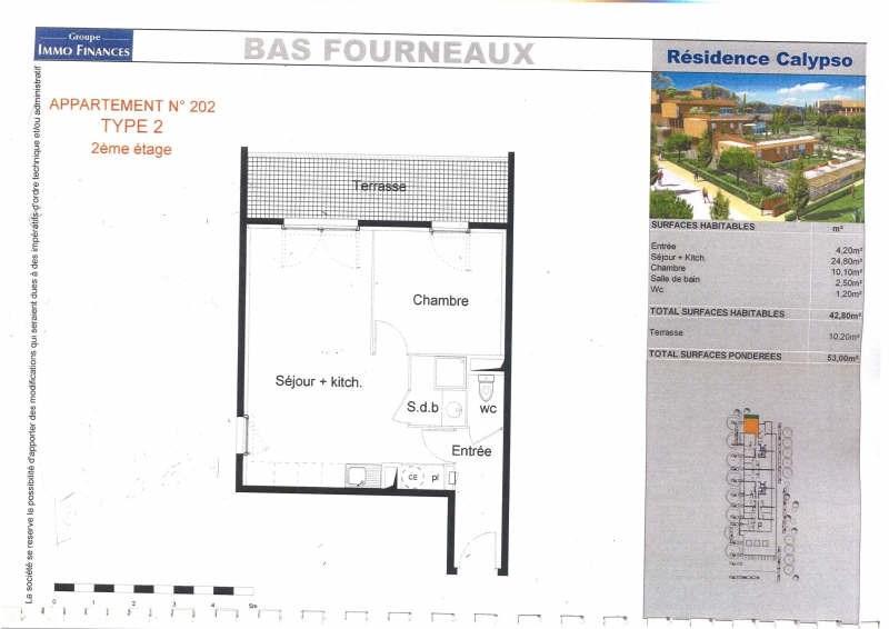 Rental apartment Balaruc 576€ CC - Picture 2