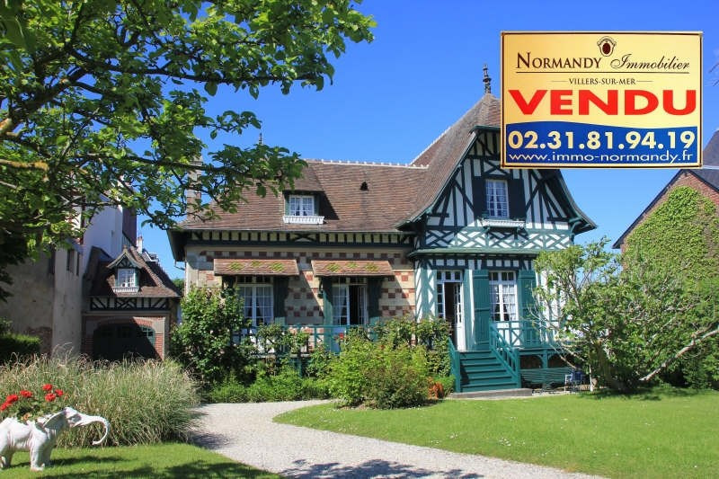 Vente de prestige maison / villa Villers sur mer 850000€ - Photo 1