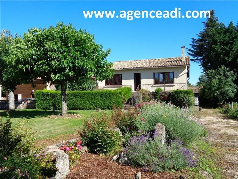 Vente maison / villa Lezay 90 000€ - Photo 1