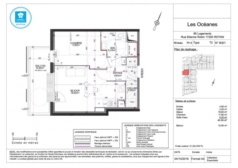 Sale apartment Royan 140000€ - Picture 4