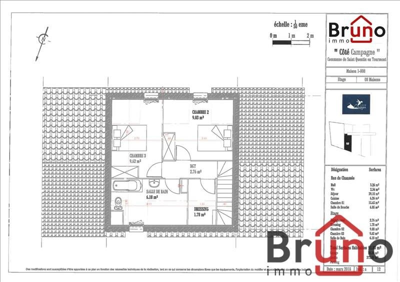 Vendita casa St quentin en tourmont 360000€ - Fotografia 5