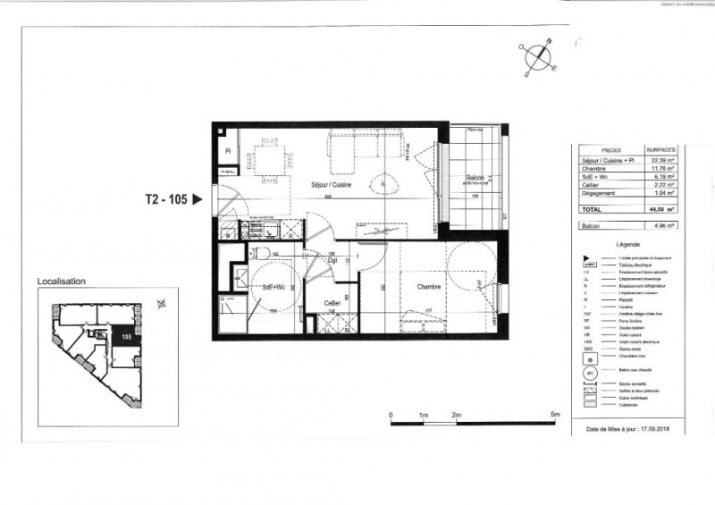 Venta  apartamento Saint nazaire 162000€ - Fotografía 3