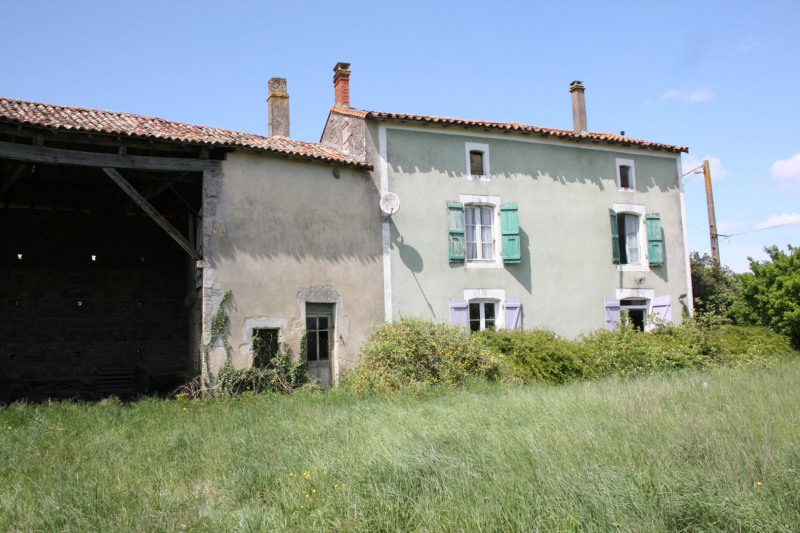 Vente maison / villa Chef-boutonne 60500€ - Photo 1