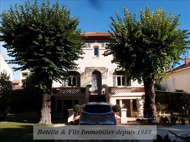 Verkauf von luxusobjekt haus Bagnols sur ceze 580000€ - Fotografie 1